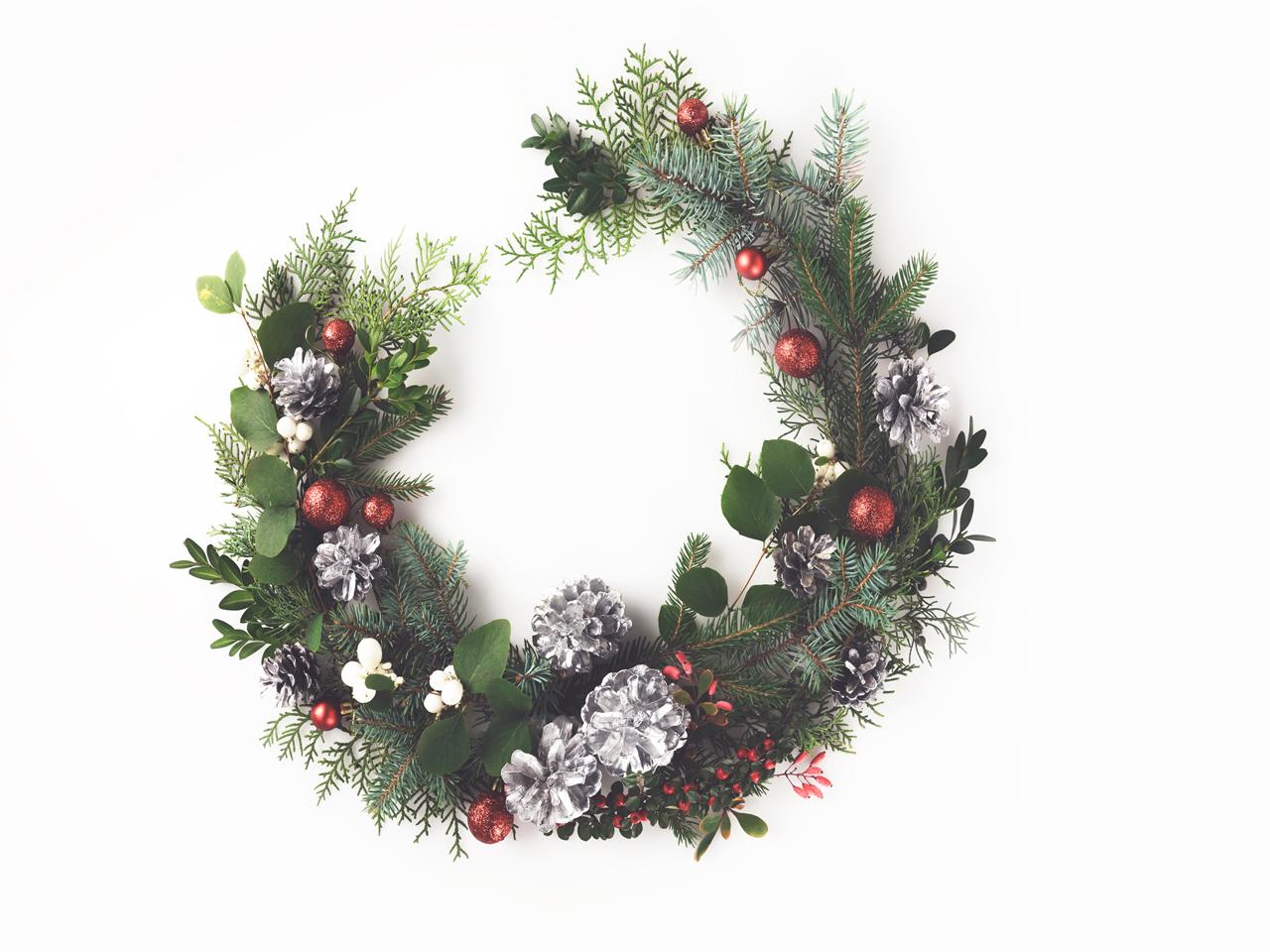 HalfMoon Wreath