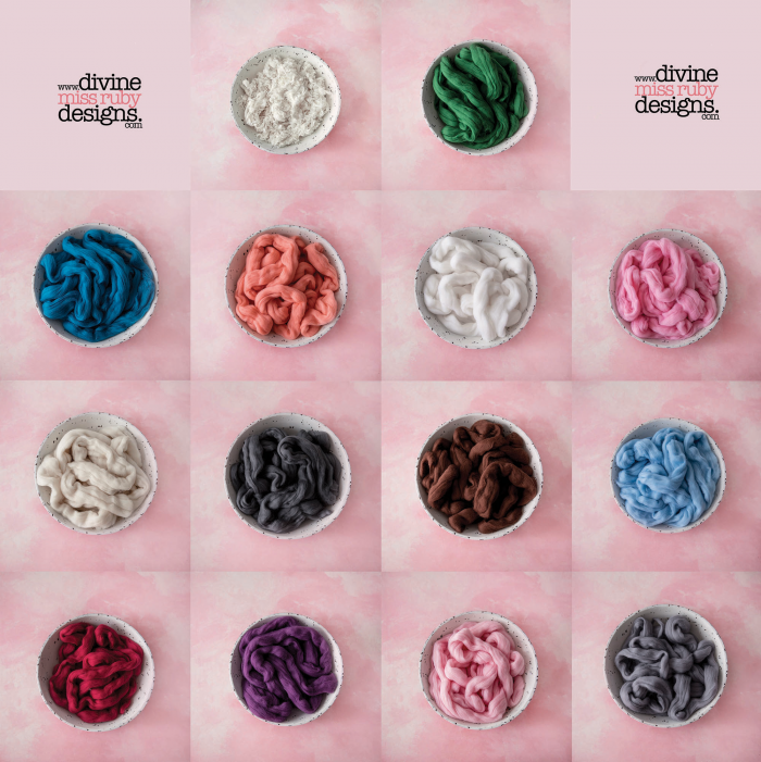 Soft Roving Wool, Loose Curls & Stretch Wraps ~The Ultimate Collection~